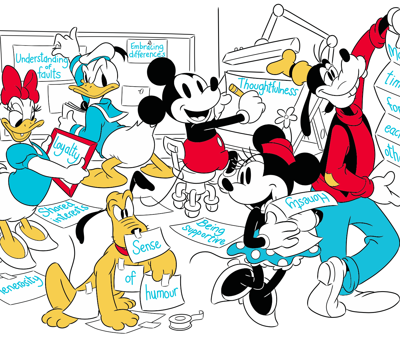 mickey friendship